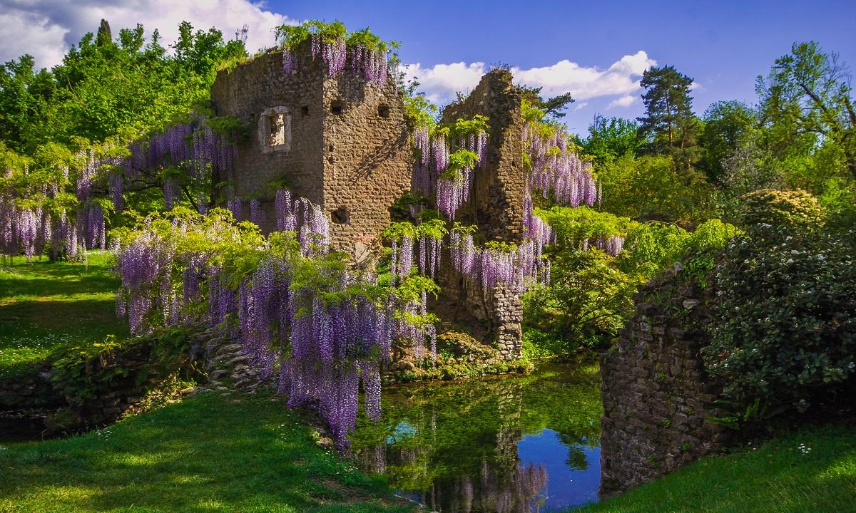giardino-di-ninfa-Roma Luxury