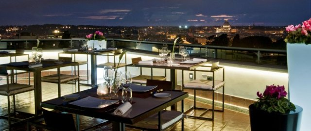 la terrasse cuisine lounge roma luxury the best vip. Black Bedroom Furniture Sets. Home Design Ideas