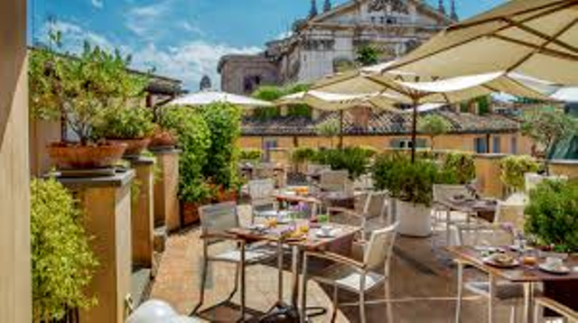 LA TERRAZZA DEL CÈSARI - Roma Luxury - THE BEST VIP Tours and ...