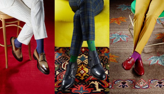 Men style-the perfect rule of sock-Roma Luxury