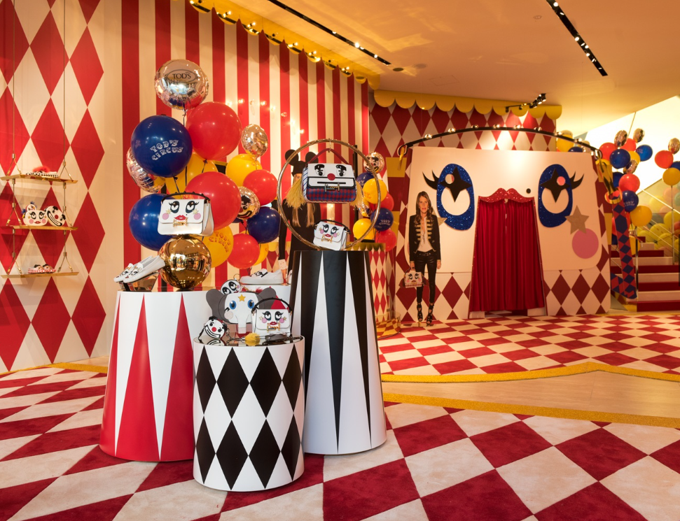 Tod's Circus - Christmas gift - Christmas Shopping in Rome with Roma Luxury
