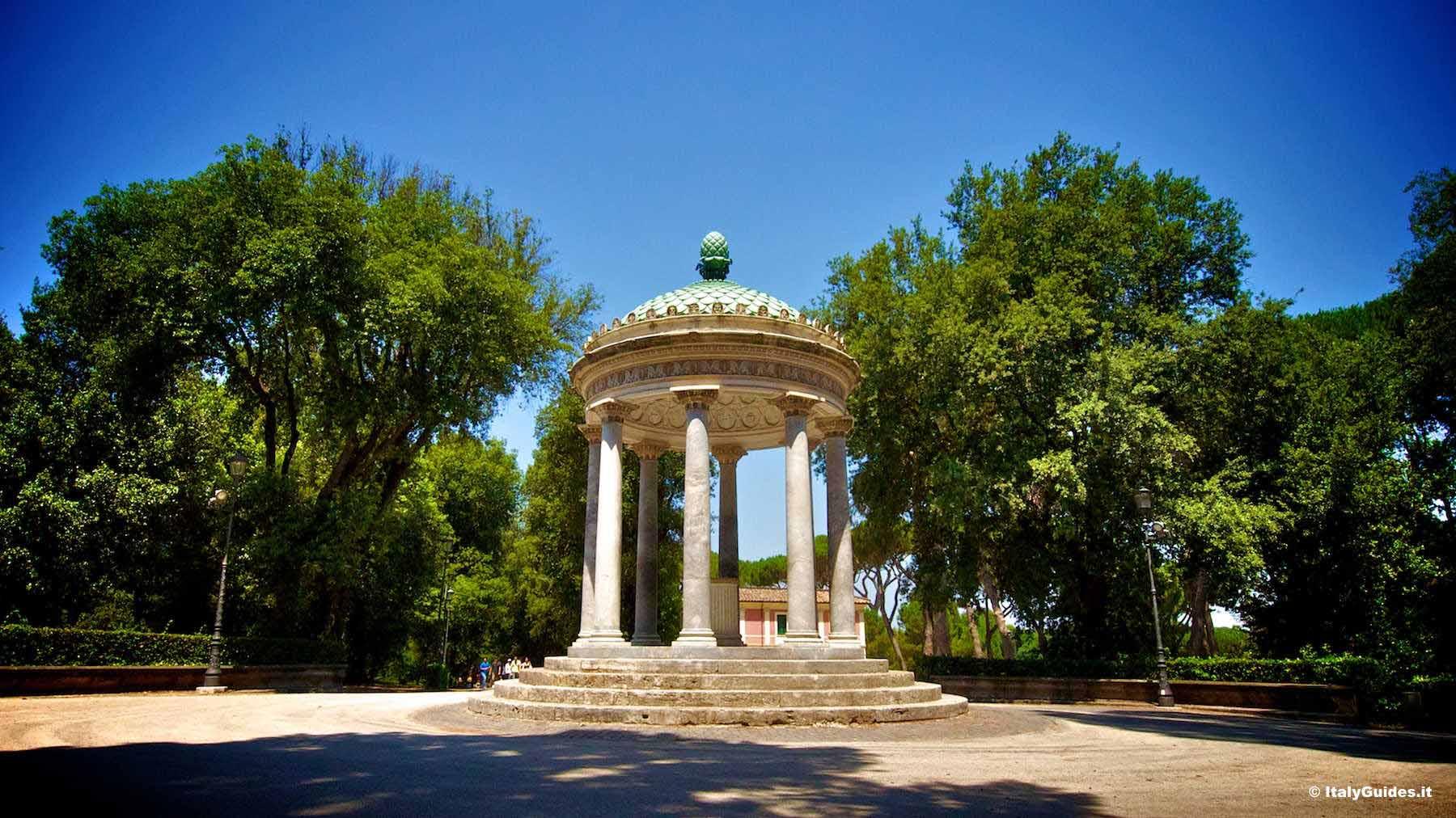 Villa Borghese Gardens Roma Luxury The Best Vip Tours