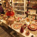 Luxury Christmas menu, wines & table decor