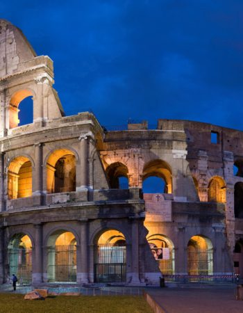 ANCIENT ROME: COLOSSEUM, IMPERIAL FORUMS & LUNCH