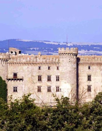 CAR TOUR@BRACCIANO LAKE & CASTLE