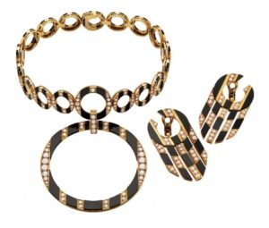 Bulgari and Rome - Necklace inspired by the floor of San Giovanni in Laterano. Heritage Collection