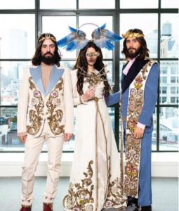 Met_Gala_2018_ Lana del Rey e Jared Leto in Gucci