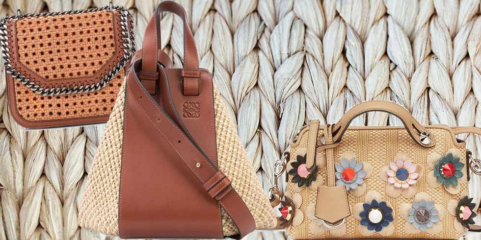 5 summer trendiest straw bags - Roma Luxury - Photocredit elle.com