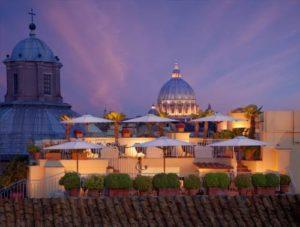 5 trendiest rooftop of Rome - Hotel Raphael Roma Luxury