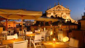 5 trendiest rooftop of Rome - la terrazza del cèsari - Roma Luxury