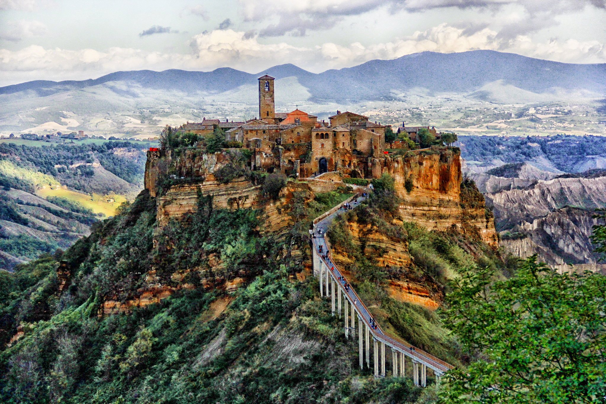 civita- di bagnoregio - roma luxury tour