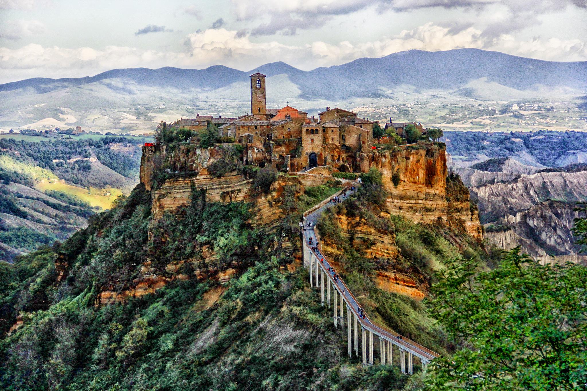 civita- di bagnoregio - roma luxury tour