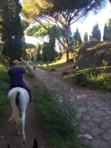 Horse ride on appian way with the Roma Luxury way TOUR IN ANCIENT ROME
