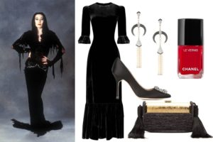 morticia02-Halloween 2018-RomaLuxury-Photocredit Vogue