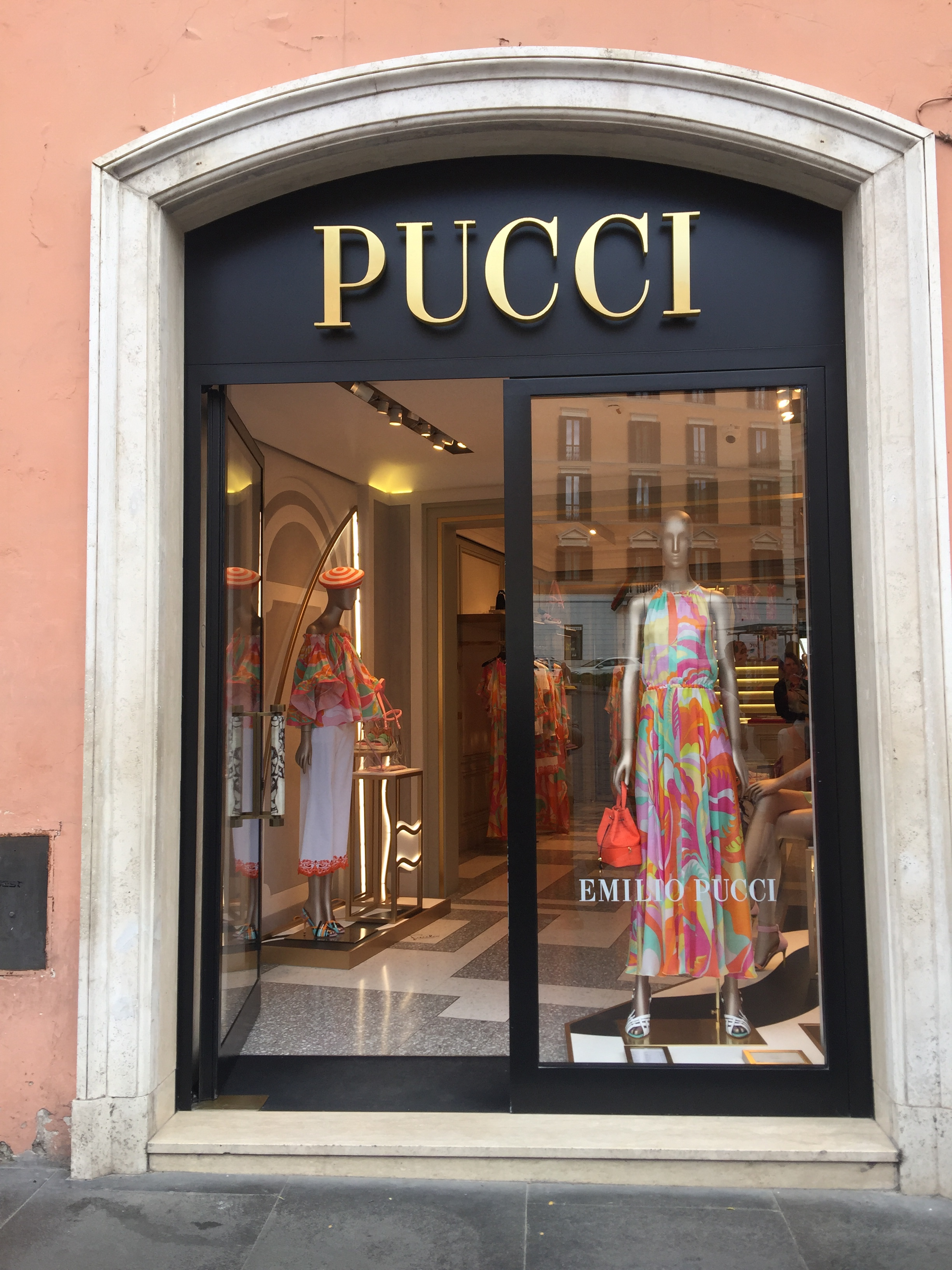 Pucci -May 2019- Roma Luxury- Shopping in Rome