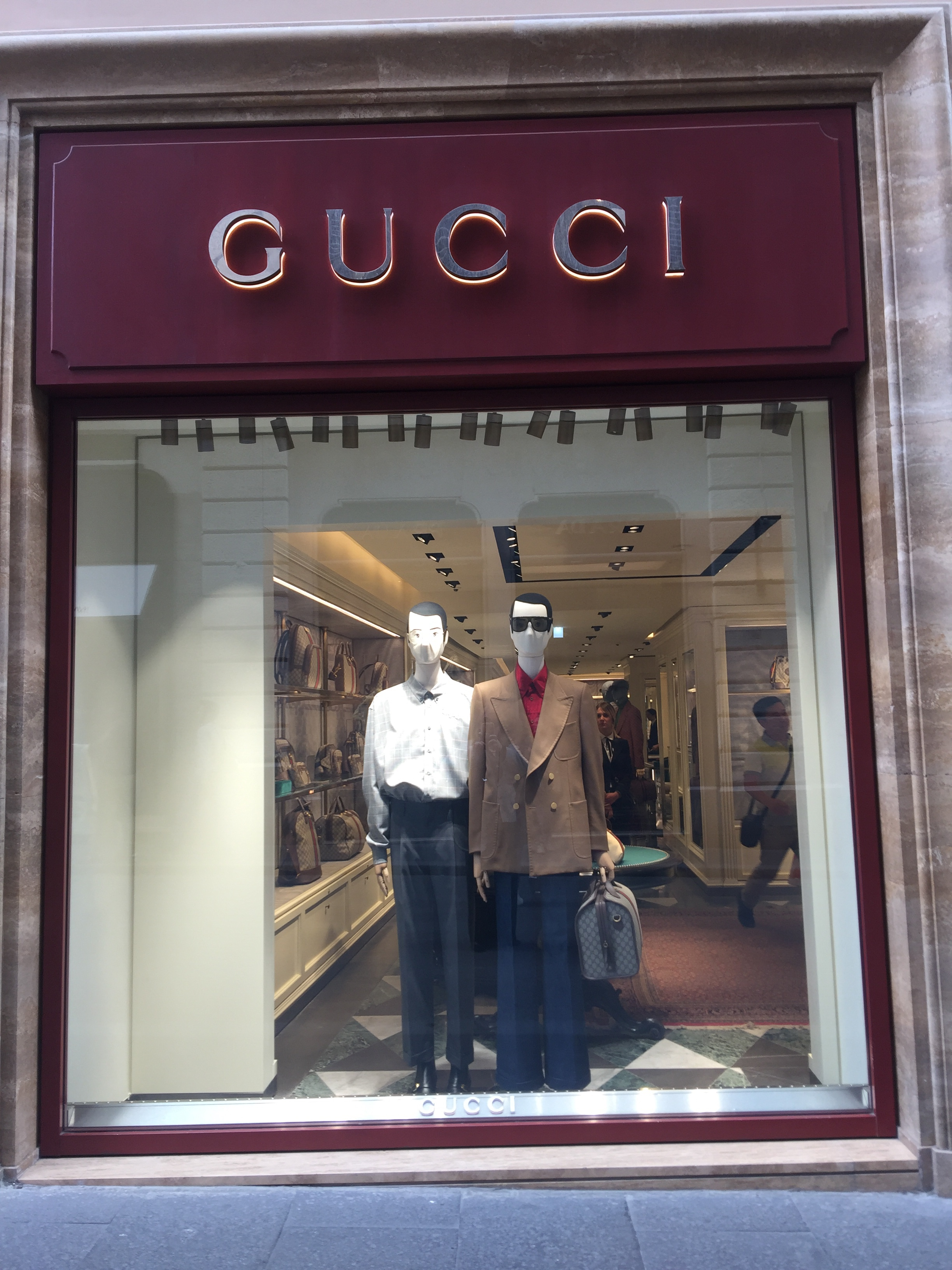 Gucci-May 2019- Roma Luxury- Shopping in Rome