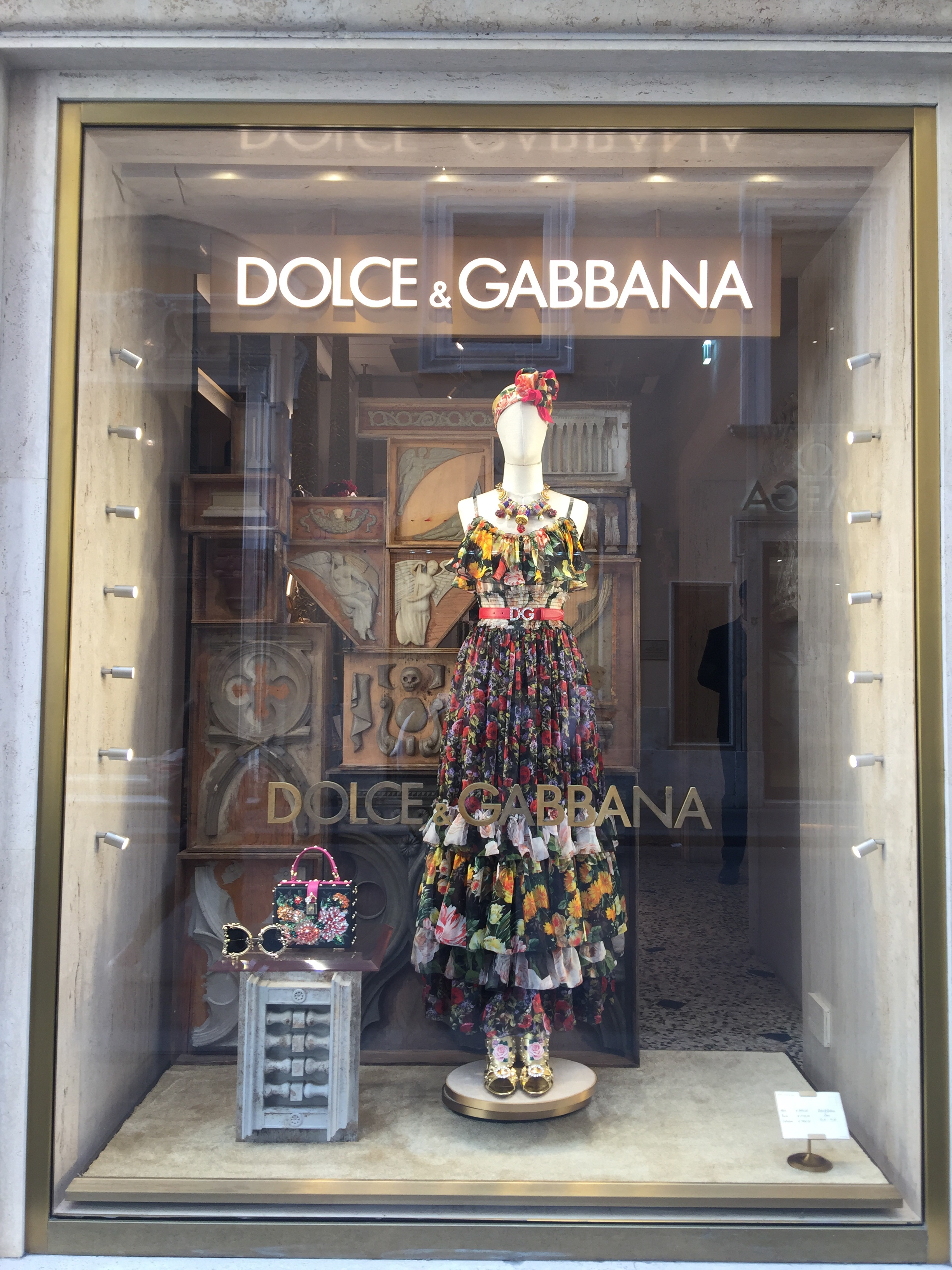 Dolce & Gabana -May 2019- Roma Luxury- Shopping in Rome