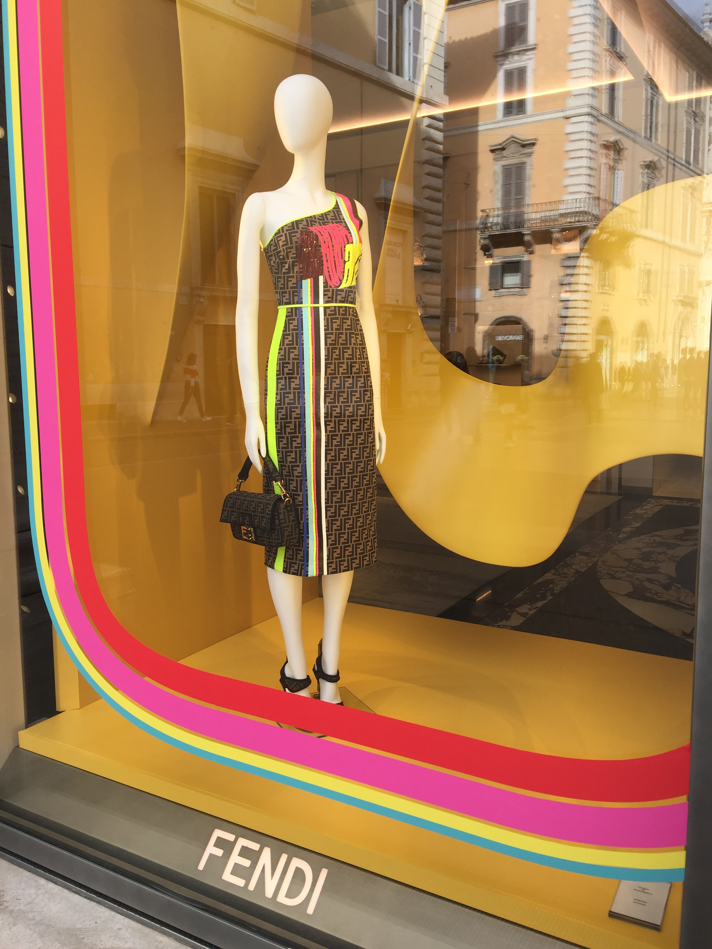 Fendi -May 2019- Roma Luxury- Shopping in Rome