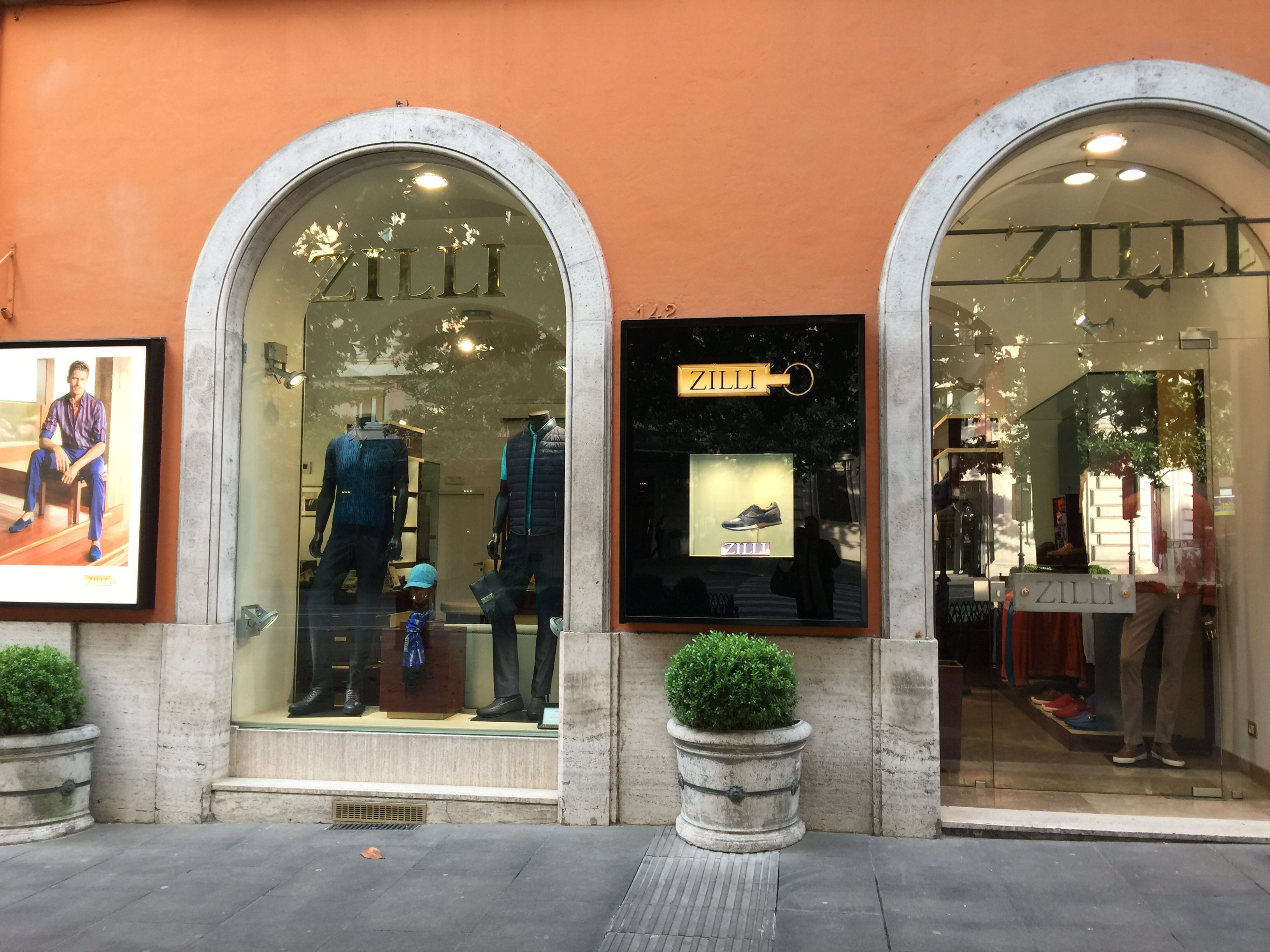 Mens ware -May 2019- Roma Luxury- Shopping in Rome