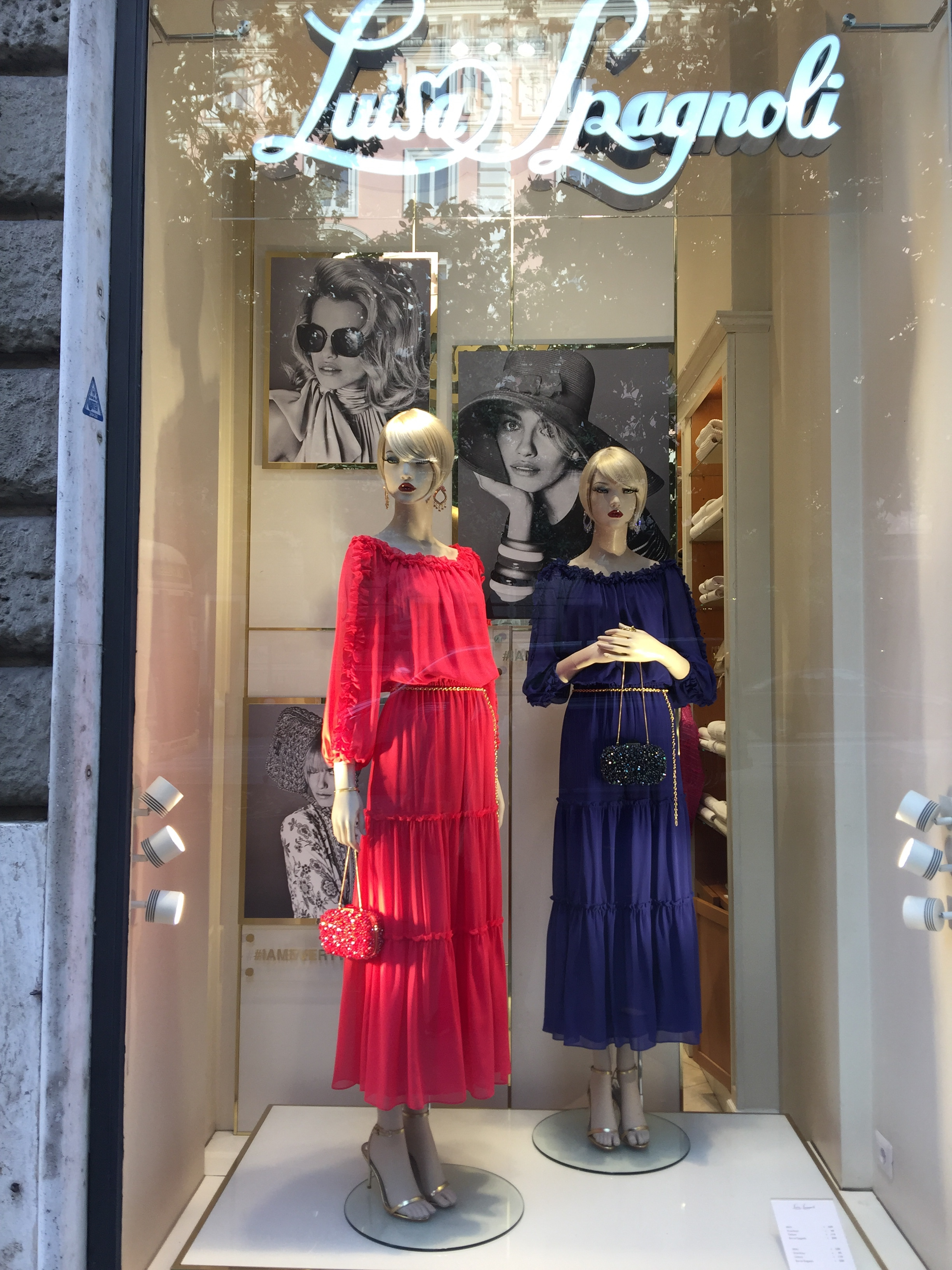 Luisa Spagnoli -Chic -May 2019- Roma Luxury- Shopping in Rome