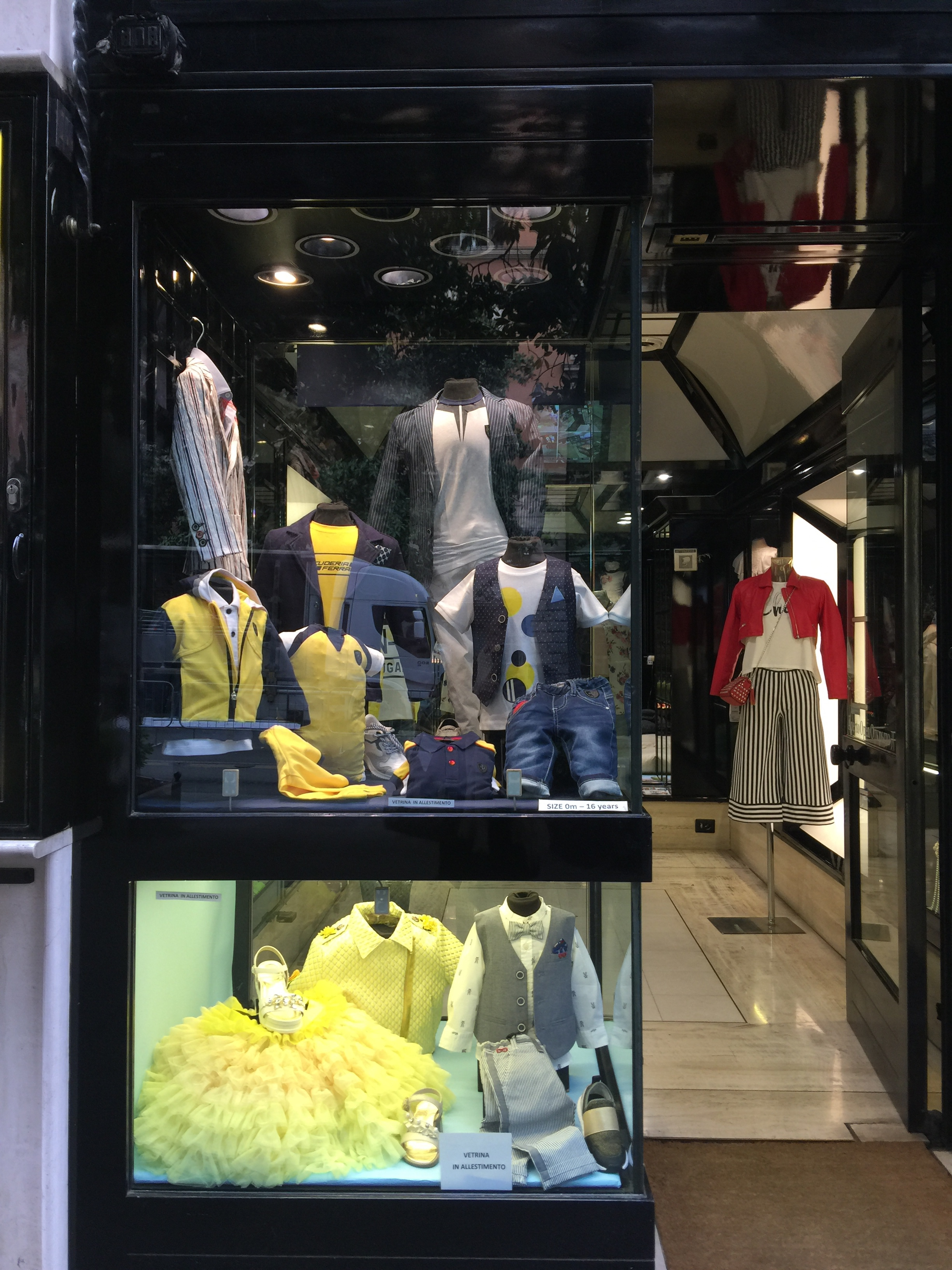Kids ware -May 2019- Roma Luxury- Shopping in Rome